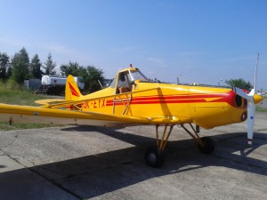 Český PA-25 z LKZB