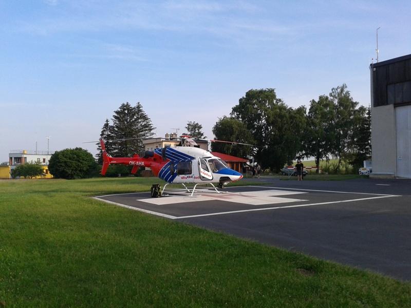vrtulník LZS na LKPI